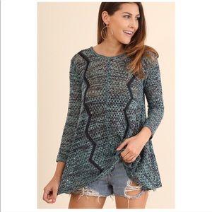 Midnight Blue Lightweight Pullover Sweater